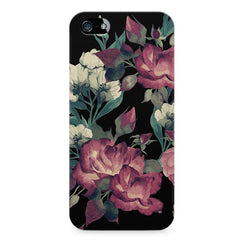 Abstract colorful flower design Apple Iphone 4/4s printed back cover