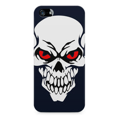 Skull with red eyes design LG Nexus 6 printed back cover