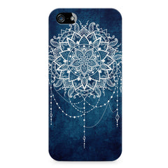 Ethnic design on blue pattern LG Nexus 6 printed back cover