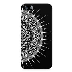 Ethnic design on black pattern LG Nexus 6 printed back cover