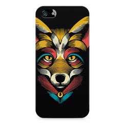 Fox sketch design LG Nexus 6 printed back cover