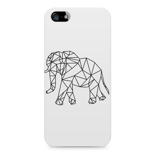 Geometrical elephant design LG Nexus 6 printed back cover