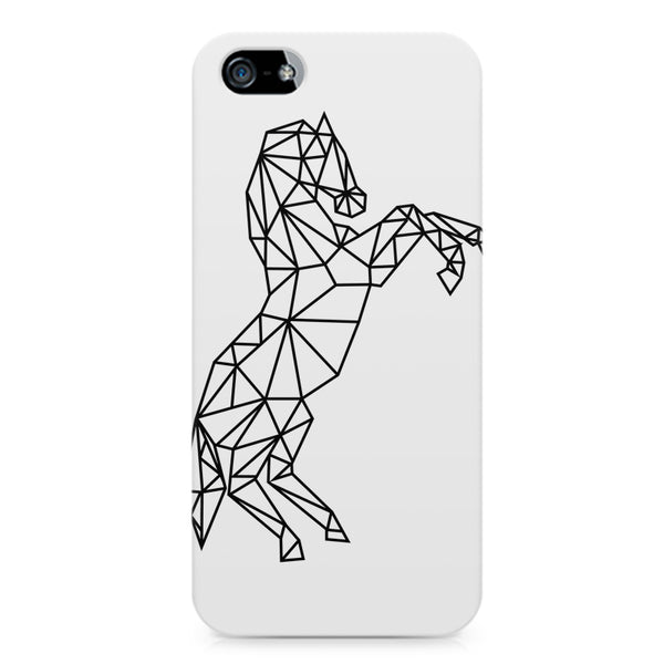 Geometrical horse design LG Nexus 6 printed back cover