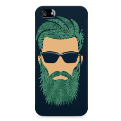 Beard guy with goggle sketch design LG Nexus 6 printed back cover