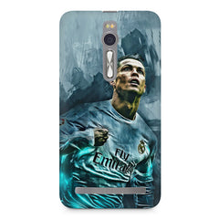 Oil painted ronaldo  design,  Asus Zenfone 2 ( ZE551 ML ) printed back cover