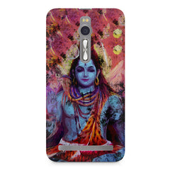 Shiva painted design Asus Zenfone 2 ( ZE551 ML ) printed back cover