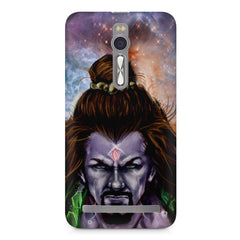 Shiva Anger  Asus Zenfone 2 ( ZE551 ML ) printed back cover