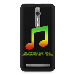 Music quotes  Asus Zenfone 2 ( ZE551 ML ) printed back cover