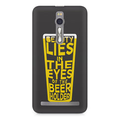 Beer Lovers Perfect Case Design design,  Asus Zenfone 2 ( ZE551 ML ) printed back cover