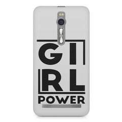Girl power deisgn Asus Zenfone 2 ( ZE551 ML ) printed back cover