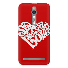 Spread some love design Asus Zenfone 2 ( ZE551 ML ) printed back cover
