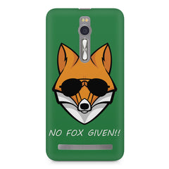 No fox given design Asus Zenfone 2 ( ZE551 ML ) printed back cover