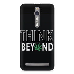 Think beyond weed design Asus Zenfone 2 ( ZE551 ML ) printed back cover