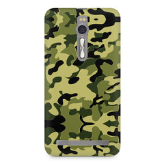 Camoflauge army color design Asus Zenfone 2 ( ZE551 ML ) printed back cover