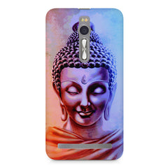 Lord Buddha design Asus Zenfone 2 ( ZE551 ML ) printed back cover
