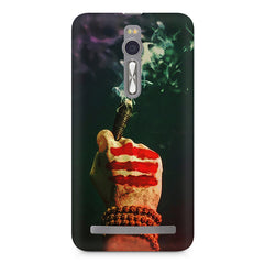 Smoke weed (chillam) design Asus Zenfone 2 ( ZE551 ML ) printed back cover