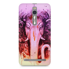 Lord Ganesha design Asus Zenfone 2 ( ZE551 ML ) printed back cover