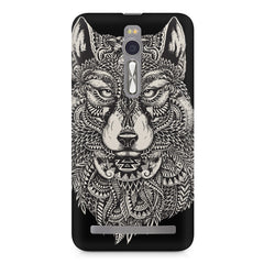 Fox illustration design Asus Zenfone 2 ( ZE551 ML ) printed back cover