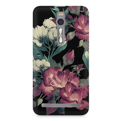Abstract colorful flower design Asus Zenfone 2 ( ZE551 ML ) printed back cover