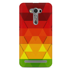 Colourful texture pattern Asus Zenfone 2 Laser ZE500ML printed back cover