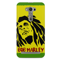 Black bob marley  Asus Zenfone 2 Laser ZE500ML printed back cover