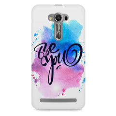 Be yourself design Asus Zenfone 2 Laser ZE500ML printed back cover
