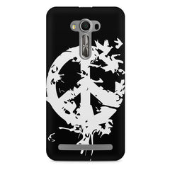 Let there be peace design Asus Zenfone 2 Laser ZE550KL printed back cover
