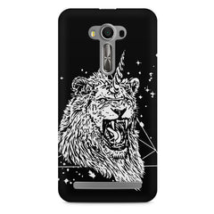 Furious unicorn design Asus Zenfone 2 Laser ZE550KL printed back cover