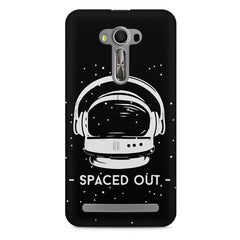Spaced out by music design Asus Zenfone 2 Laser ZE550KL printed back cover