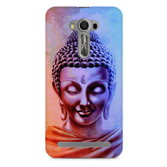 Lord Buddha design Asus Zenfone 2 Laser ZE550KL printed back cover