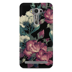 Abstract colorful flower design Asus Zenfone 2 Laser ZE550KL printed back cover