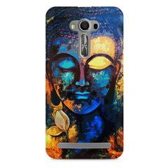 Beautiful Buddha abstract painting full of colors design  Asus Zenfone 2 Laser ZE500ML hard plastic printed back cover