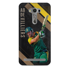 Ab De Villiers the Batting pose    Asus Zenfone 2 Laser ZE500ML hard plastic printed back cover