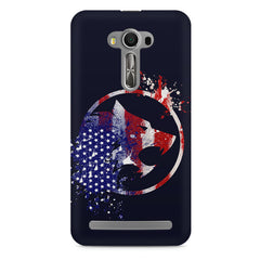 American Wolf design    Asus Zenfone 2 Laser ZE500ML hard plastic printed back cover