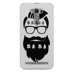 Being BaBa Design Asus Zenfone 2 Laser ZE500ML hard plastic printed back cover