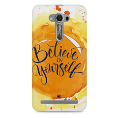 Believe in Yourself Asus Zenfone 2 Laser ZE500ML hard plastic printed back cover