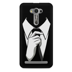 Corporate Tie design,  Asus Zenfone 2 Laser ZE500ML printed back cover