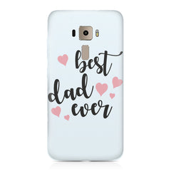 Best Dad Ever Design Asus Zenfone 3 hard plastic printed back cover