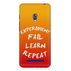 Experiment Fail Learn Repeat - Entrepreneur Quotes design,  Asus Zenfone 5 printed back cover
