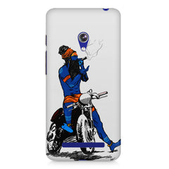 Puff pass  Asus Zenfone 5 printed back cover