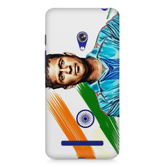 Sachin Tendulkar blue  Asus Zenfone 5 printed back cover
