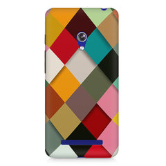 Graphic Design diamonds   Asus Zenfone 5 printed back cover