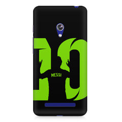 Lionel Messi 10 Victory  design,  Asus Zenfone 5 printed back cover
