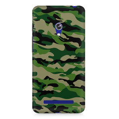 Military design design Asus Zenfone 5 printed back cover