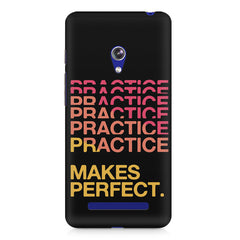 Practise makes perfect design Asus Zenfone 5 printed back cover