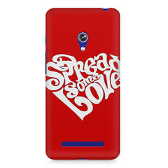 Spread some love design Asus Zenfone 5 printed back cover