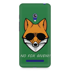 No fox given design Asus Zenfone 5 printed back cover
