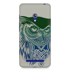 Owl Sketch design,  Asus Zenfone 5 printed back cover