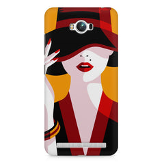 Classy girl  design,  Asus Zenfone Max printed back cover