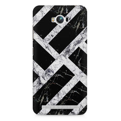 Black & white rectangular bars  Asus Zenfone Max printed back cover